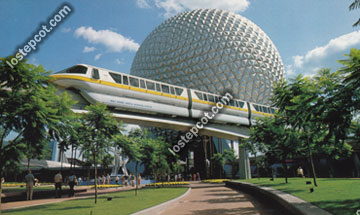 gold monorail