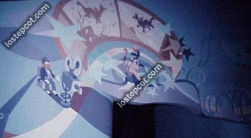 Figment with Dreamfinder wall