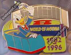 World of Motion pin